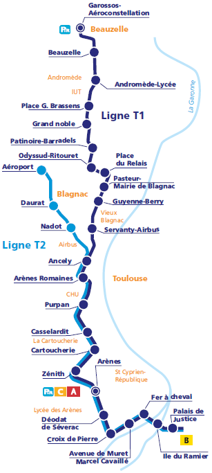 Le Tramway Toulouse Fr